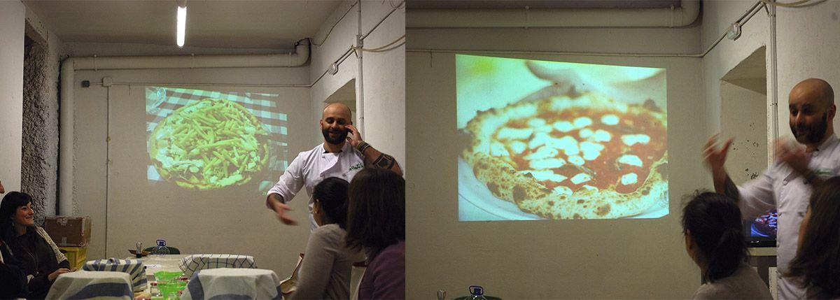 Díptico comparativa pizza napolitana y pizza sueca_Malasaña a mordiscos_La Hoja de Albahaca