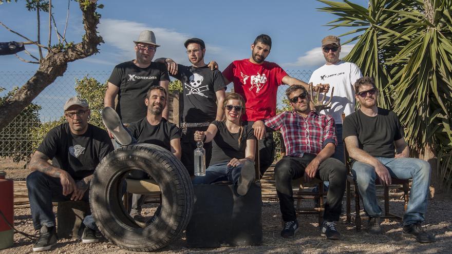 El grupo valenciano X-Fanekaes