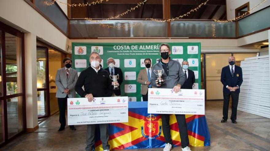 Carlos Suneson, campeón de España de Profesionales Senior