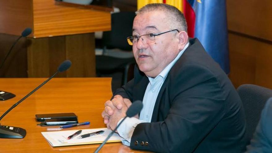 Santiago Rodríguez, presidente de Asprocan.