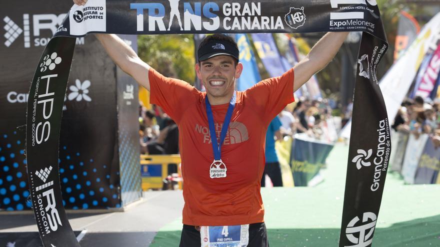 Pau Capell, ganador de la Transgrancanaria 125km.