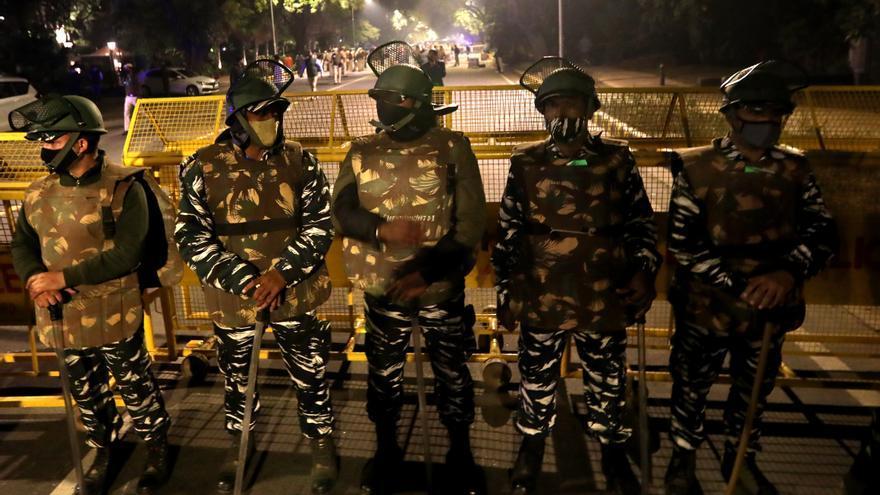 Explosión sin víctimas cerca de la Embajada de Israel en Nueva Delhi