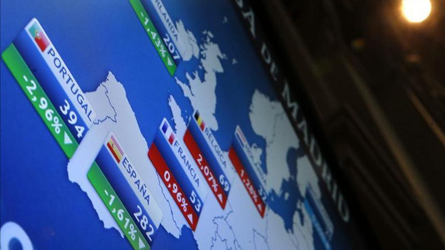 La prima de riesgo española sube en la apertura a 293 puntos básicos