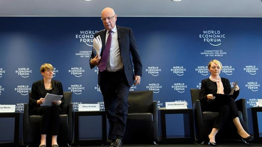 El fundador y presidente del Foro Económico Mundial, Klaus Schwab.