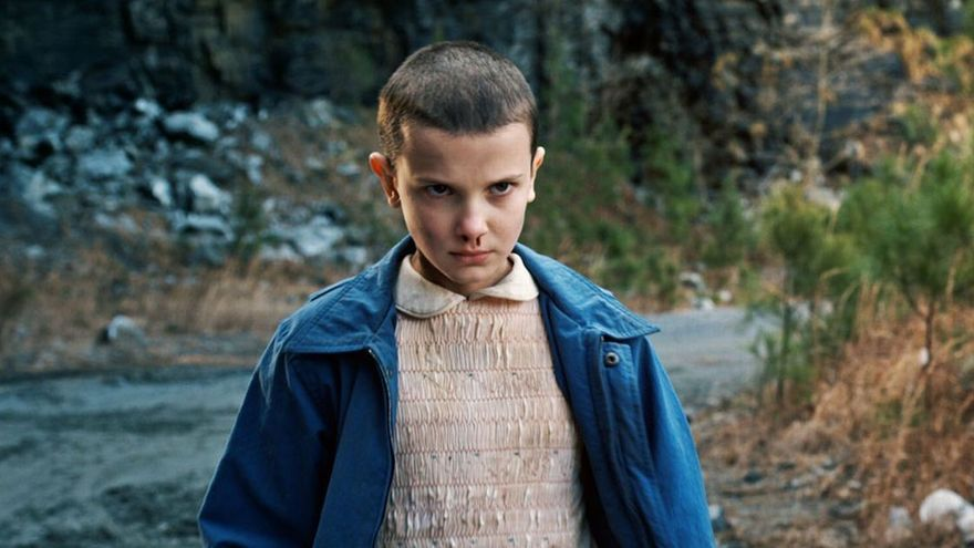 Eleven en 'Stranger Things'