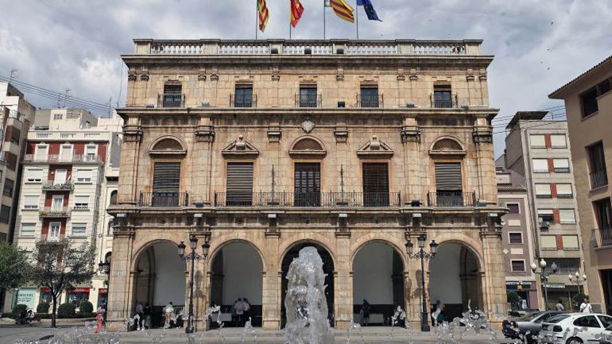 Fachada del Ayuntamiento de Castellón