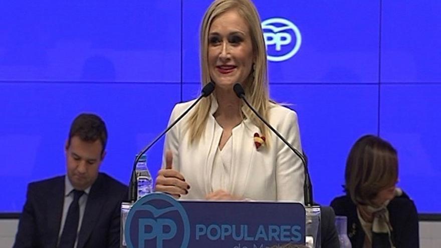 Cifuentes prepara al PP para las elecciones de 2019 y diseña un plan específico para recuperar Madrid