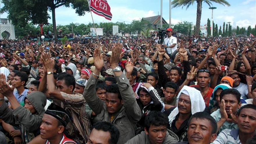 Se rinde un grupo armado indonesio que luchaba por la independencia de Aceh