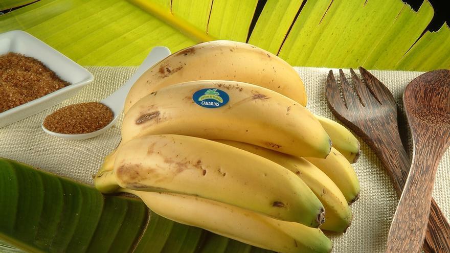 Plátanos de Canarias.