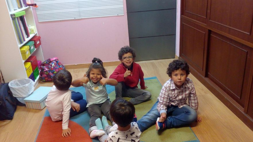 Niños con Sindrome Williams