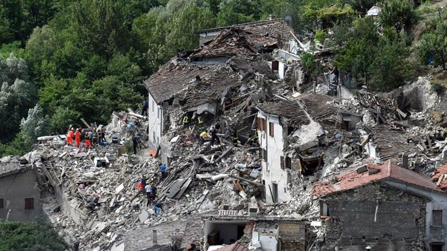 Registrados otros 39 seísmos de más de 3 grados de magnitud en Italia