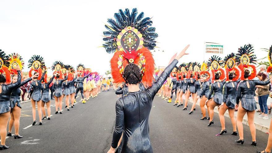 Imagen de archivo del Carnaval de Breña Baja.