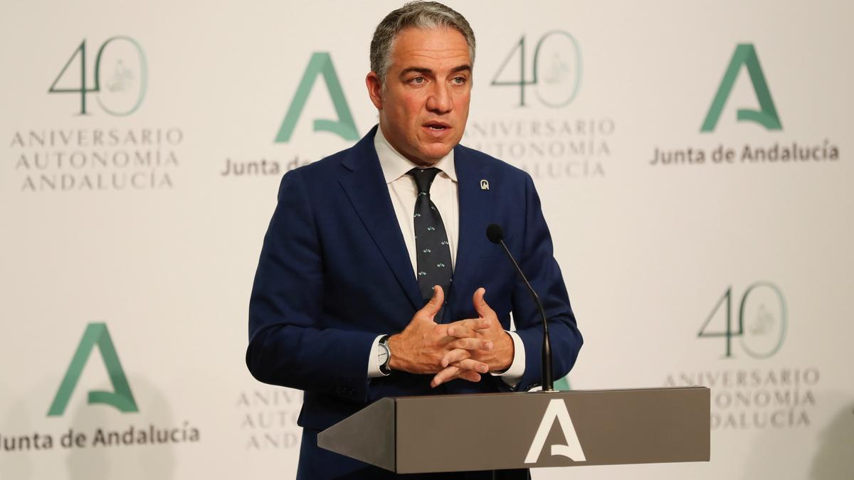 Elías Bendodo dirige también la Fundación Centro de Estudios Andaluces. EFE/José Manuel Vidal