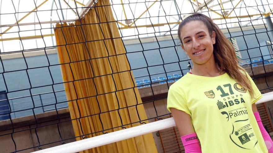 Omaira Perdomo espera brindar una próxima temporada llena de alegrías para la afición grancanaria