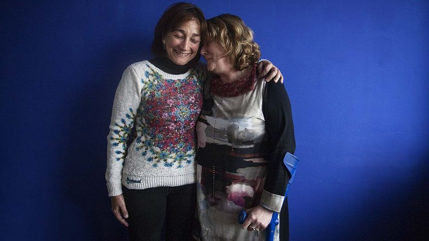 L'Araceli Pena i la Maite Blázquez viuen lluites paral·leles per conèixer on són els seus avis