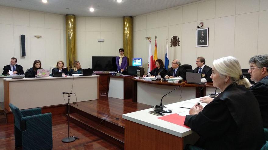 Una de las sesiones del juicio de 'La Loma'.   R.A.