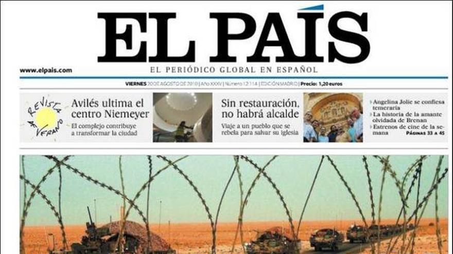 De las portadas del día (20/08/2010) #6