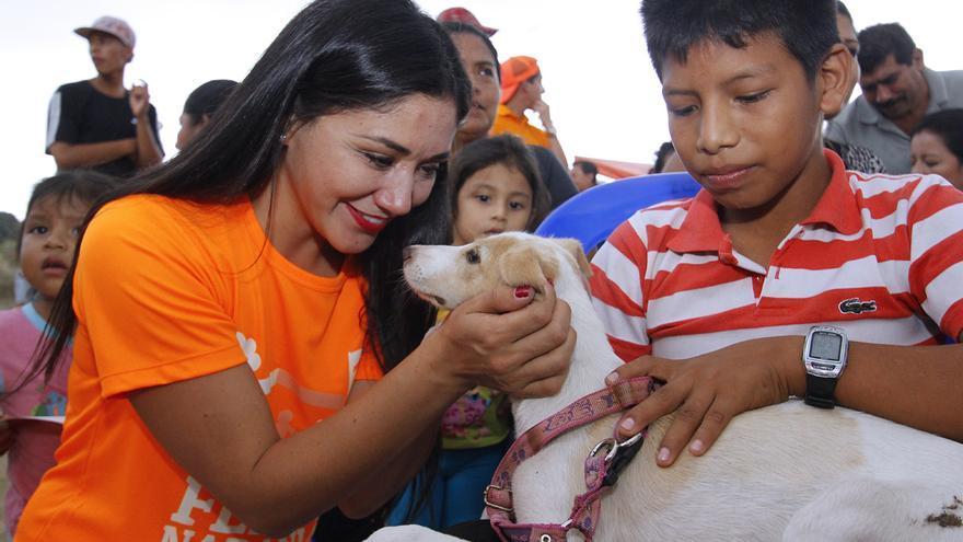 La periodista y política ecuatoriana Nathaly Toledo.