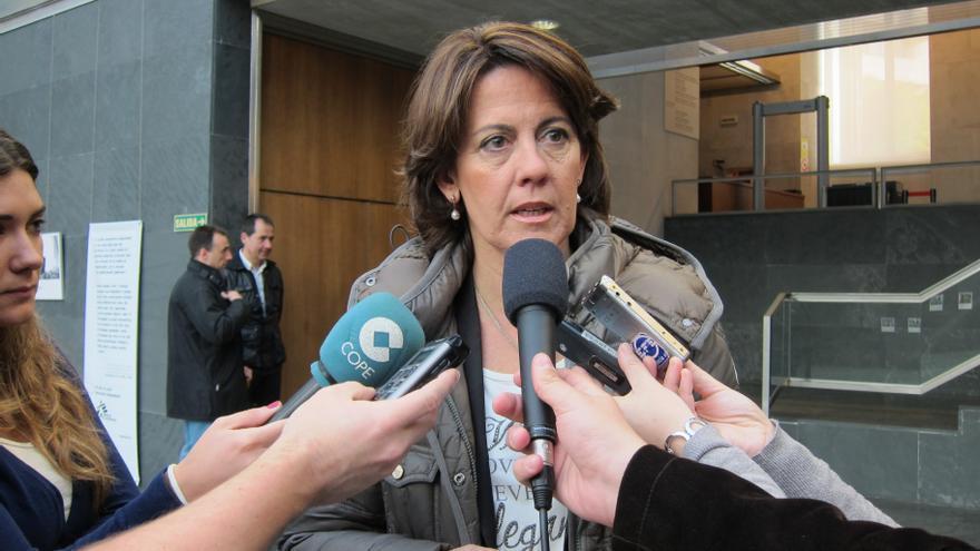 """Barcina dice que """"la Justicia tiene que seguir actuando contra los que incumplan las leyes"""""""