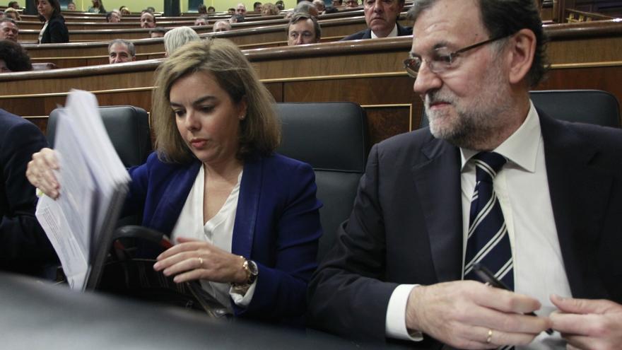 """Santamaría cree que Rajoy ha sido """"muy gráfico"""" al alertar de los """"efectos"""" de los 'salvapatrias'"""