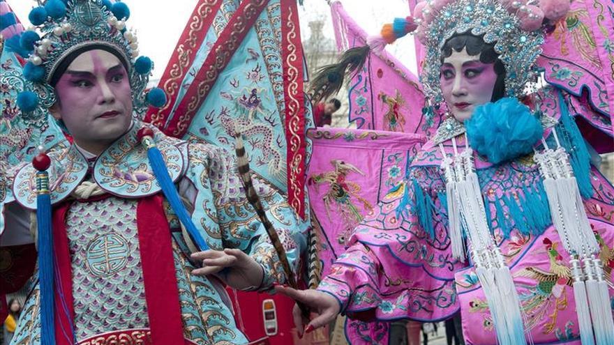Londres celebra la mayor fiesta del Año Nuevo chino fuera de Asia