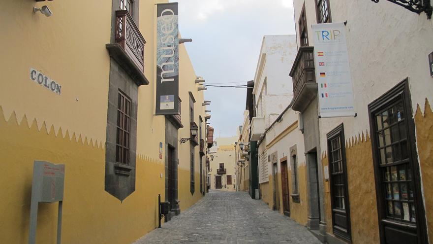 Barrio de Vegueta, en Las Palmas de Gran Canaria