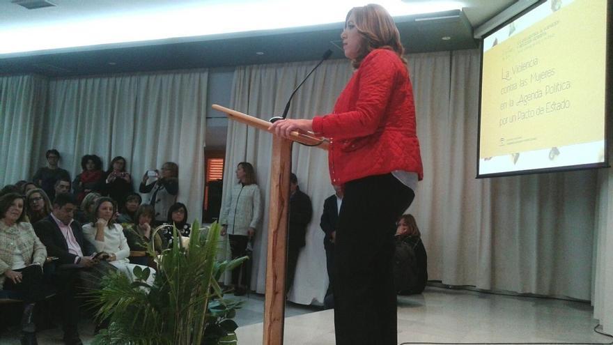 """Susana Díaz dice que se ha """"impuesto el sentido común"""" con la sentencia del TC sobre la subasta de medicamentos"""