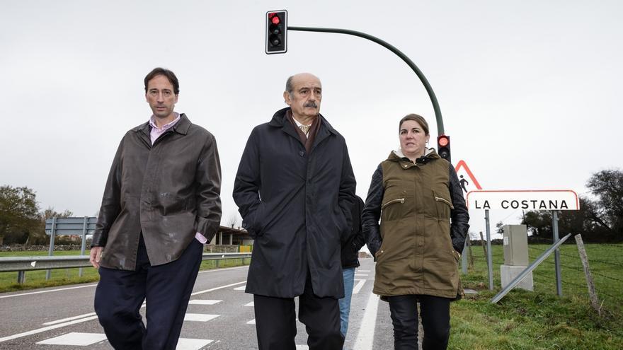 El Gobierno instala controles de velocidad en Orzales y La Población
