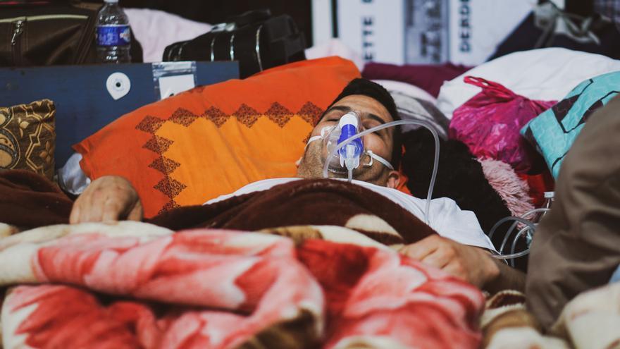 La huelga de hambre ya hace estragos entre los migrantes sin papeles.