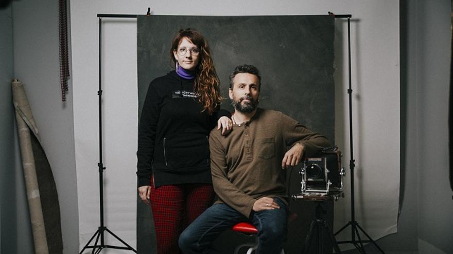 Silvia Marte y David de Flores