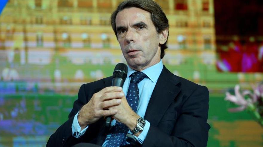 """Aznar: el brexit es un """"tremendo error"""" que generará profundos problemas"""