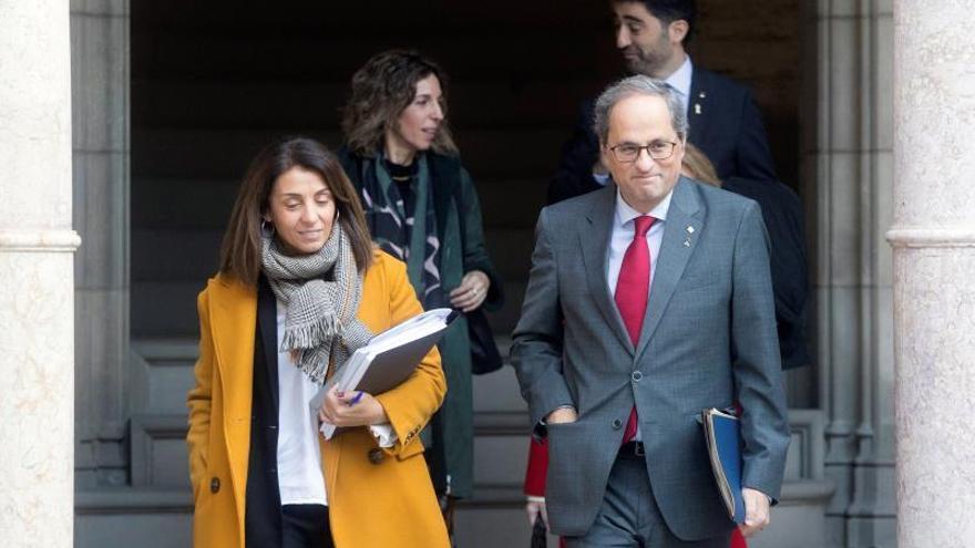 El Govern pide abrir el diálogo con Moncloa tras la investidura