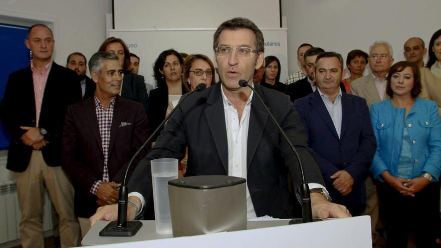 """Feijóo dice que """"en las próximas horas"""" tendrá una propuesta sobre el alcalde de Boqueixón"""