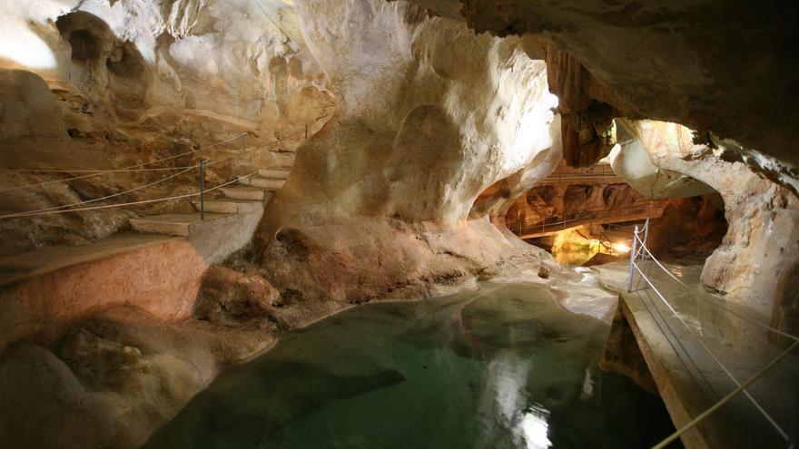 Cueva del Tesoro, en el Rincón de la Victoria (Málaga).