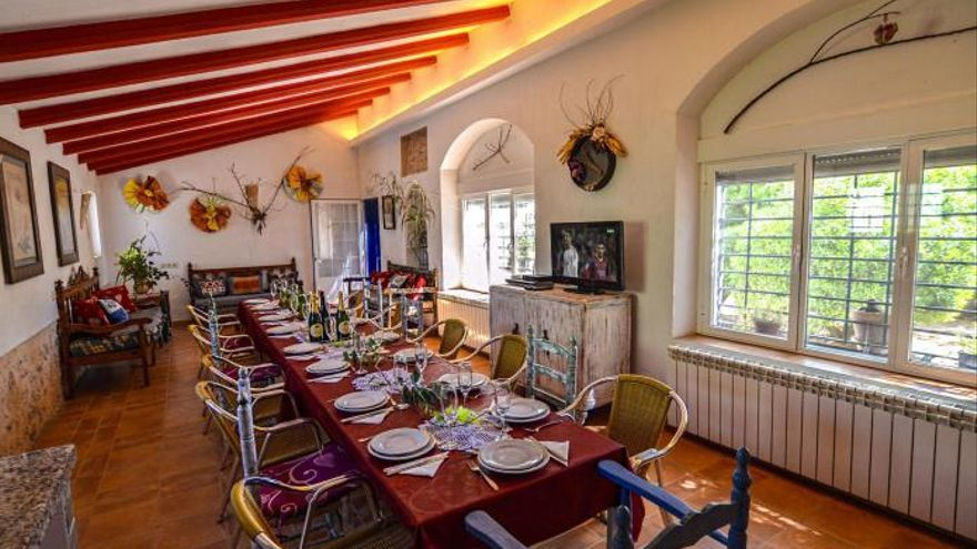 Casa rural 'El paraíso del Don Quijote' en El Toboso (Toledo)