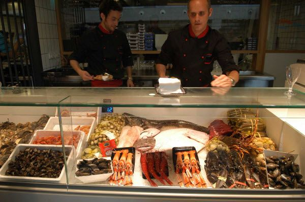 Pescadería del Mercado de San Antón | Fotografía: Ayuntamiento de Madrid