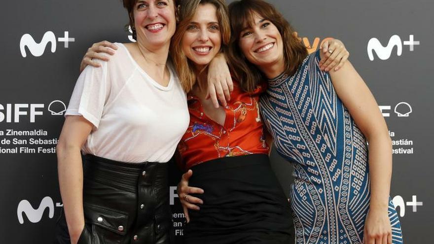 """Leticia Dolera, """"deseando"""" ver su serie en el Zinemaldia: """"La gente se vuelca"""""""