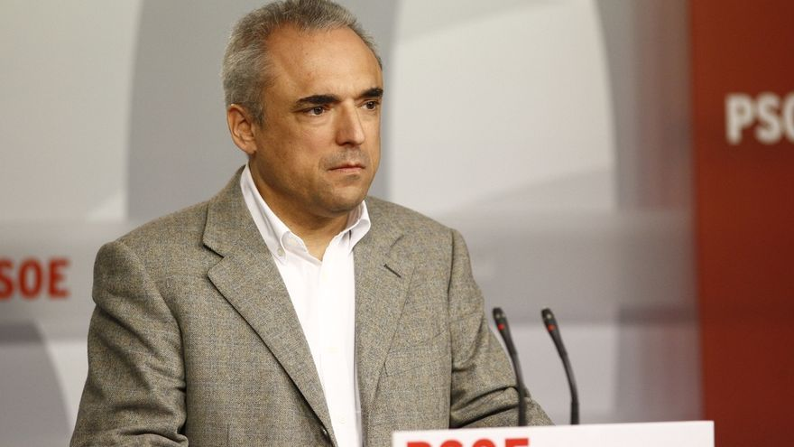"""Rafael Simancas: """"No tiene ningún sentido que el PP busque apoyo en el PSOE"""""""