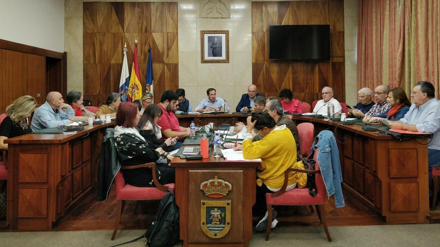Reunión del Consejo Social de La Palma.