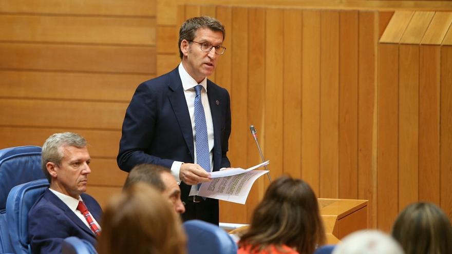 Feijóo avanzará una batería de reformas estructurales para intentar reducir los incendios en Galicia