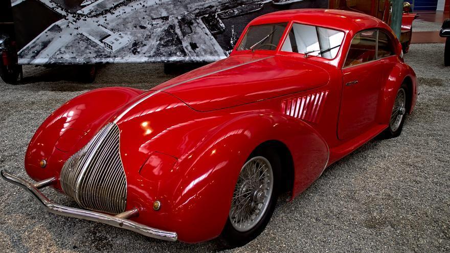 Impresionante Alfa Romeo en la Ciudad del Automóvil. Frank Weber (CC)