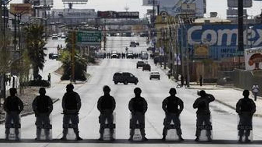 Ejército en Ciudad Juárez