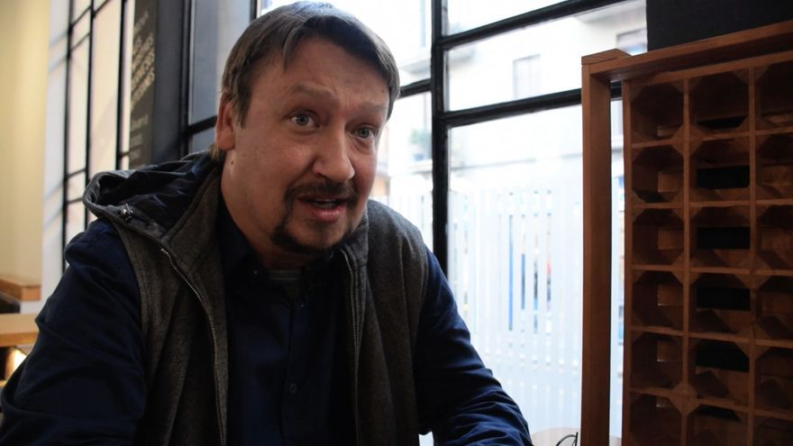 Xavier Domènech en el Casino Menestral de Figueres