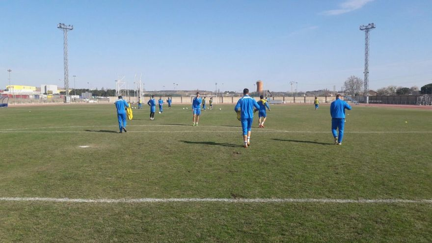 Campo de fútbol de la Arandina CF