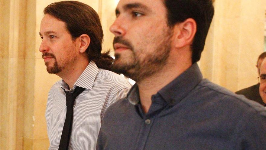 IU acusa a Podemos de relegar a sus diputados en las comisiones del Congreso y exige una rectificación
