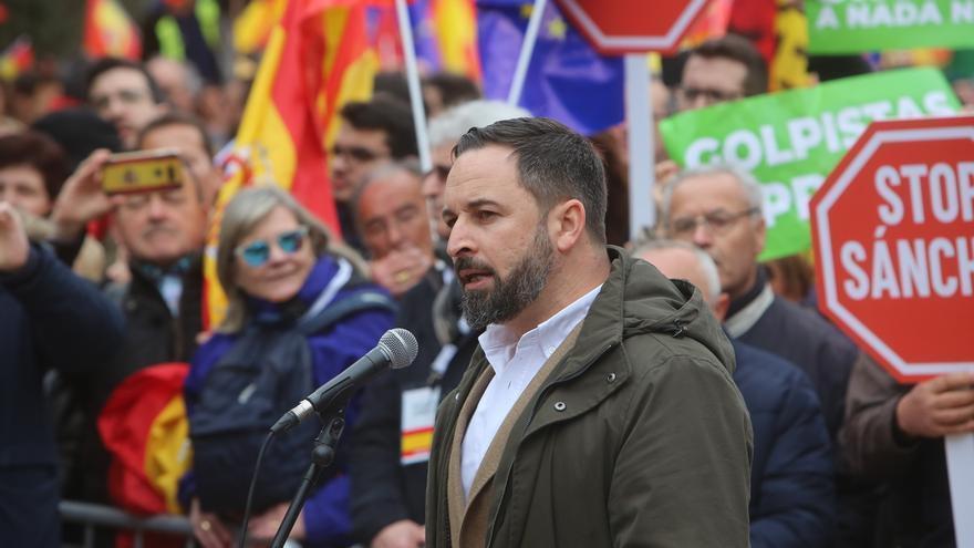 """Abascal (Vox) pide detener a """"la Presidencia de la Generalitat para sofocar el golpe con todas sus consecuencias"""""""