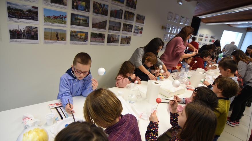 Taller infantil 'Menestra de Planetas', organizado en Toledo en febrero de 2018