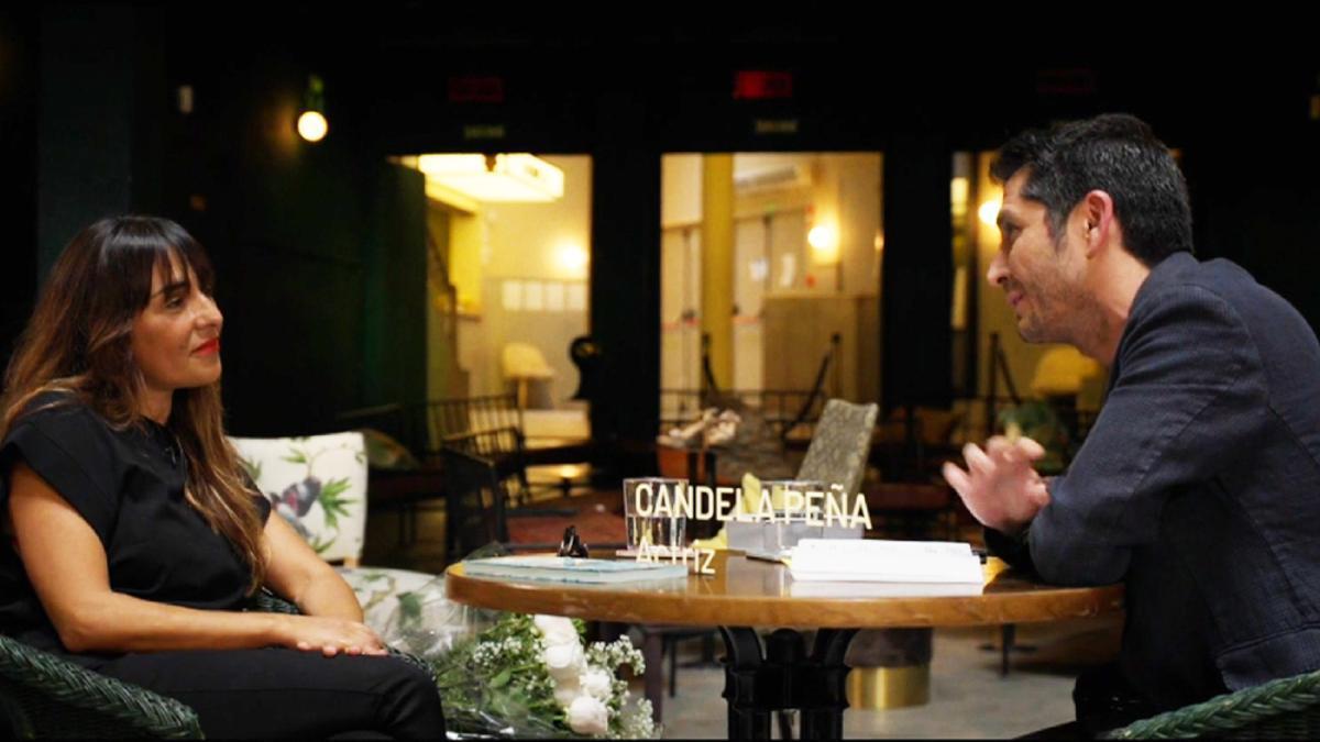 Candela Peña, entrevistada por Carlos del Amor