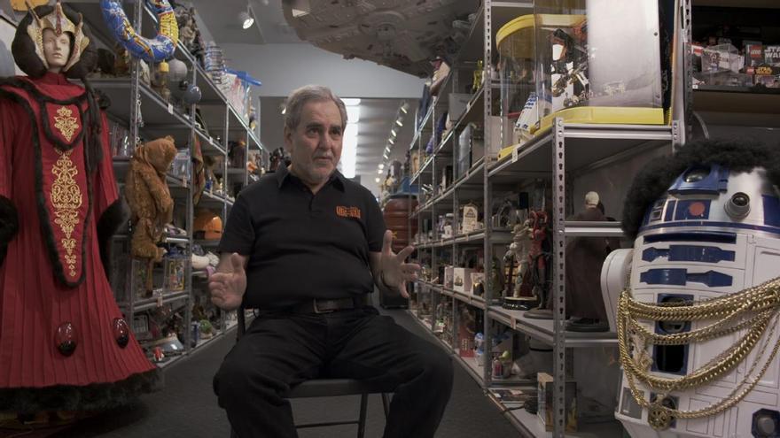 Steve Sansweet, el mayor coleccionista de 'Star Wars' entrevistado en 'The Toys that made us'
