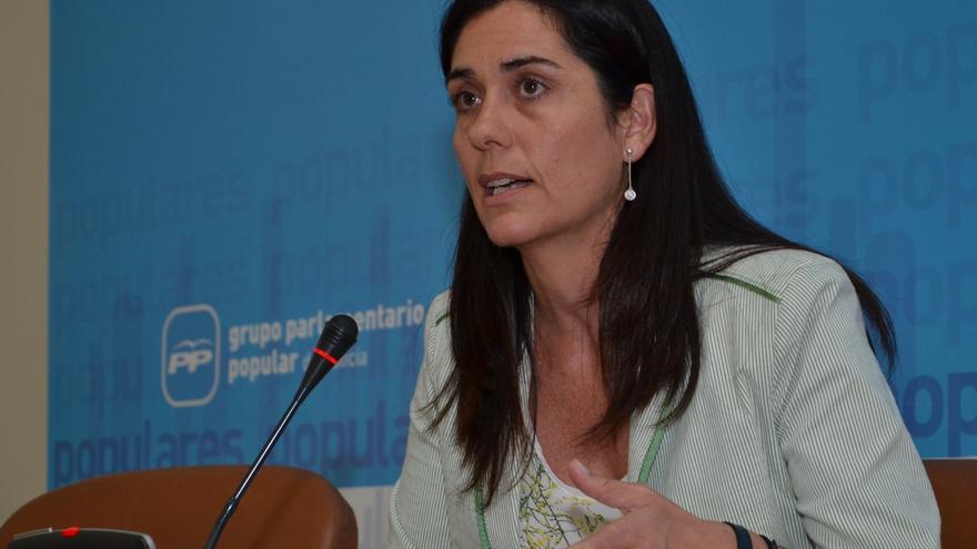 Paula Prado, viceportavoz parlamentaria del PP gallego
